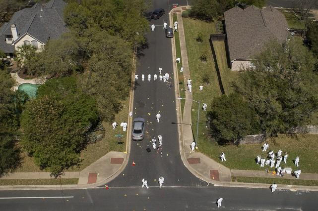 Colis piégés au Texas:les auteurs sont des «malades», ditTrump