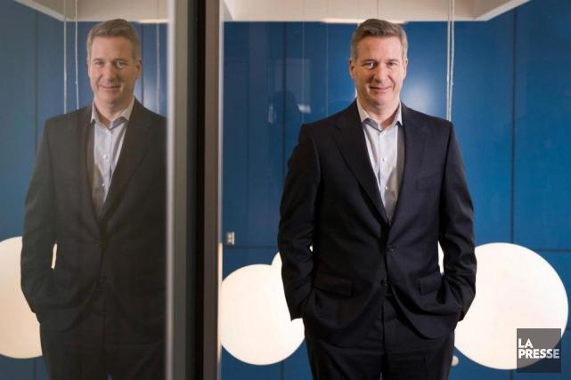 Philippe Morin, PDG d'Exfo, dans les locaux de... (Photo Ivanoh Demers, La Presse)