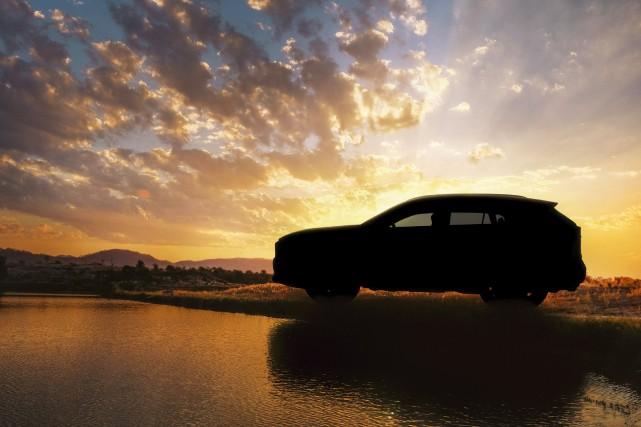 Le futur Toyota RAV4 2019.... (photo toyota)