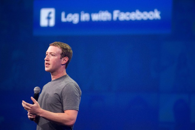 Le patron de Facebook Mark Zuckerberg... (PHOTO Josh Edelson, ARCHIVES AFP)