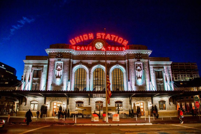 The Crawford Hotel est situé au-dessus d'Union Station,... (Photo Martin Tremblay, La Presse)