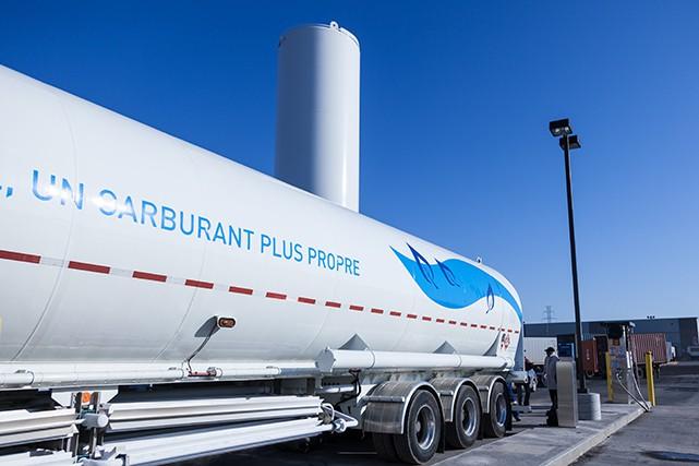Camions au gaz naturel une solution disponible aujourd for Autobronzant naturel fait maison
