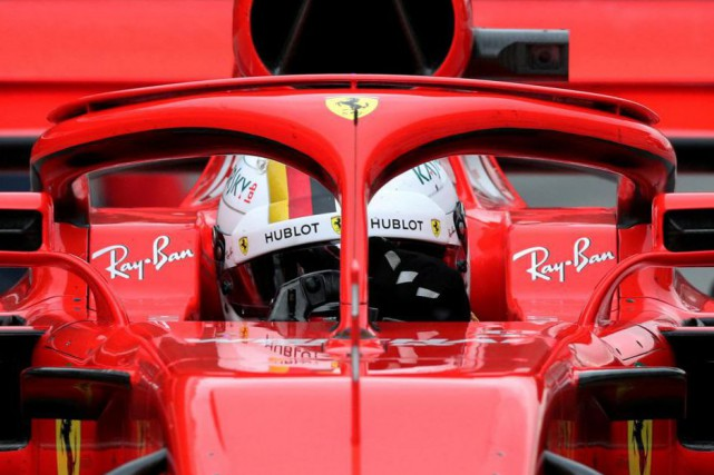 Le halo au-dessus du cockpit vise à améliorer... (PhotoAlbert Gea, Reuters)