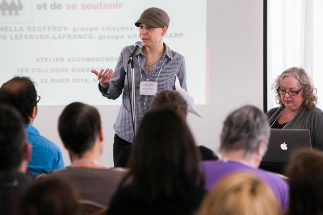 Mitsou Lefebvre-Lafrance fait partie des 320000Québécois atteints d'un... (Photo Martin Tremblay, La Presse)