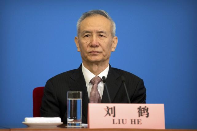 Liu He est considéré comme le «tsar» de... (PHOTO AP)