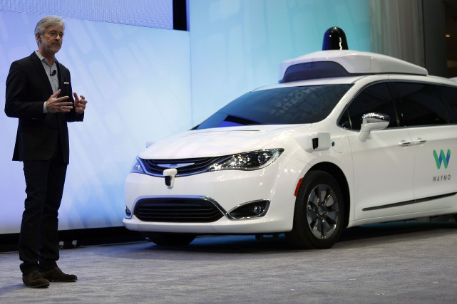 voiture autonome waymo pense que sa technologie aurait vit l 39 accident d 39 uber technologies. Black Bedroom Furniture Sets. Home Design Ideas