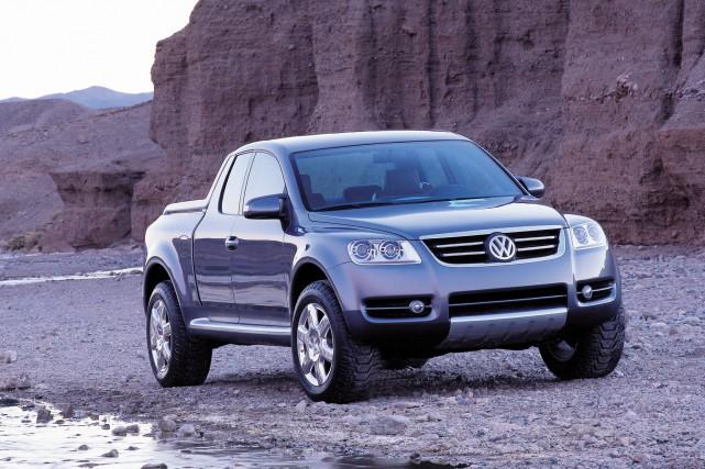 Pas le premier essai - Volkswagen a déjà... (PHOTO VOLKSWAGEN)