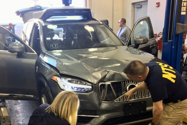 les voitures autonomes d'uber désormais interdites en arizona | techno