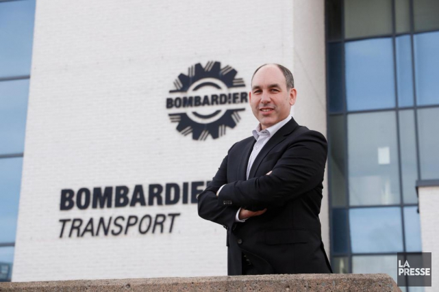 Benoit Brossoit, PDG de Bombardier Transport.... (PHOTO Martin Chamberland, LA PRESSE)