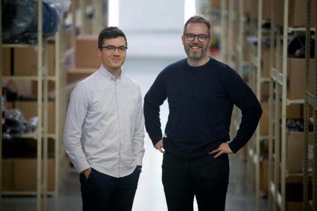 Maxime Dubois et Alexandre Guimont ont commencé à... (Photo François Roy, La Presse)