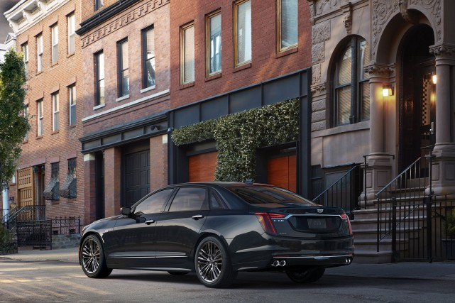 Cadillac CT6 V-Sport 2019 a été redessinée et... (Photo Cadillac)