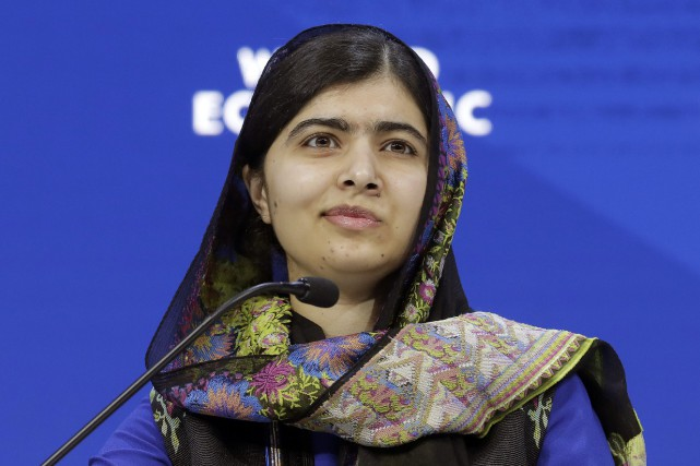 Malala Yousafzai... (PHOTO Markus Schreiber, AP)