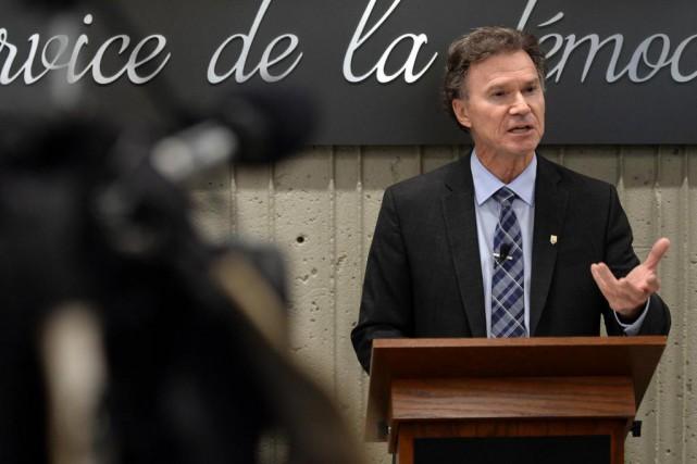 Pierre Reid, directeur général des élections du Québec... (PHOTO ERICK LABBÉ, ARCHIVES LE SOLEIL)