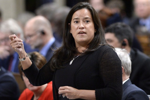 La ministre de la Justice, Jody Wilson-Raybould, a... (Photo Justin Tang, La Presse canadienne)