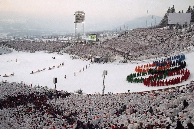 Lillehammer a été l'hôte des Jeux olympiques d'hiver... (PHOTO KATSUMI KASAHARA, ARCHIVES ASSOCIATED PRESS)