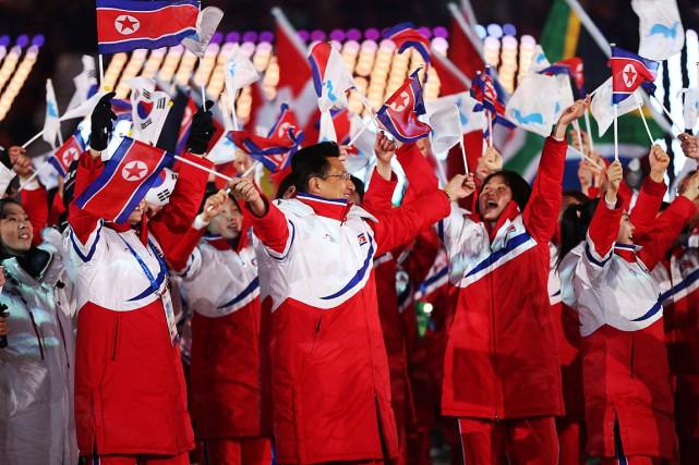 La Corée du Nord a participé aux Jeux... (PHOTO NATACHA PISARENKO, ARCHIVES ASSOCIATED PRESS)