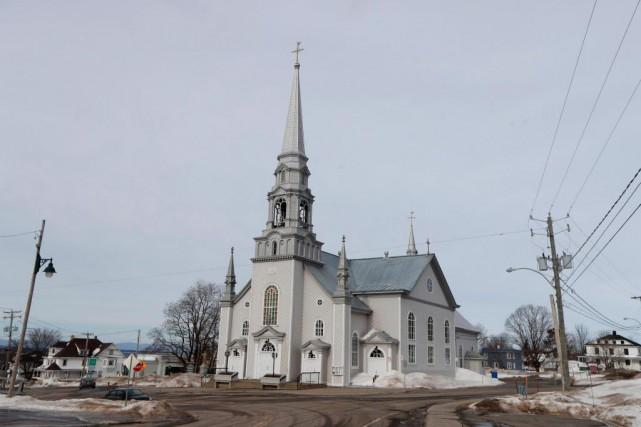 L'église du village de Saint-Pacôme pourrait être sauvée... (Photo Martin Chamberland, La Presse)