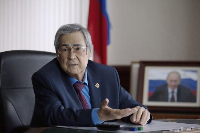 Aman Touleïev... (Photo Maxim Lisov, archives REUTERS)
