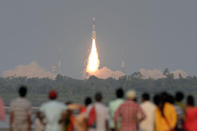 Le premier ministre Narendra Modi avait salué le... (Photo Arun SANKAR, Agence France-Presse)