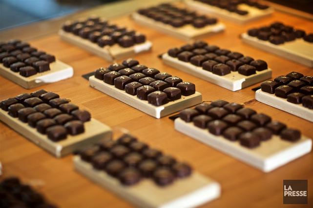 «De plus en plus, le chocolat est commercialisé... (PHOTO ANDRÉ PICHETTE, ARCHIVES LA PRESSE)