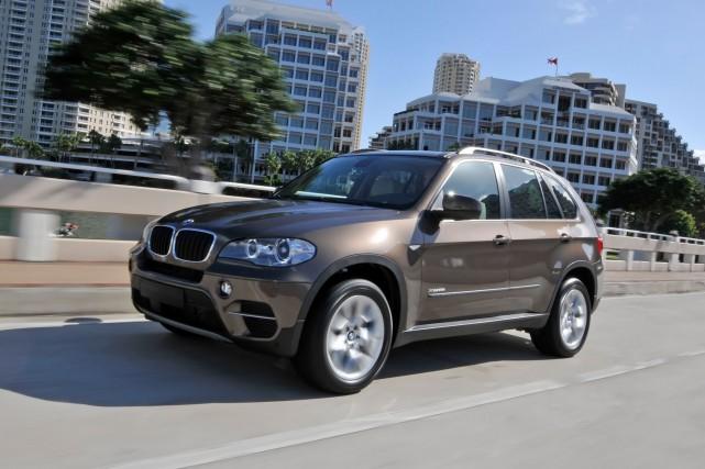 Un BMW X5 diesel 2012....
