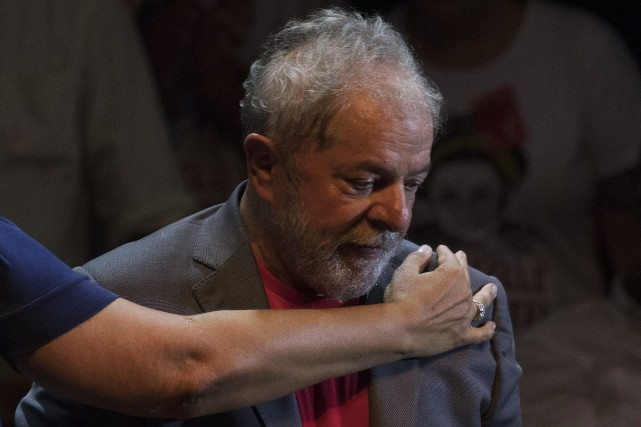 En janvier, Lula a été condamné en appel... (Photo Leo Correa, Associated Press)