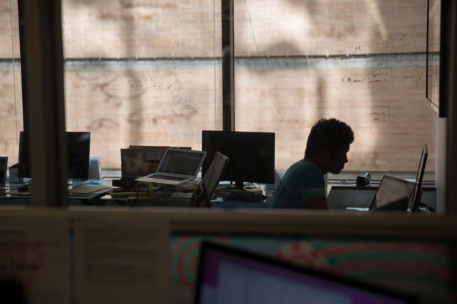«Pour de nombreux employés handicapés, un travail est... (ARCHIVES BLOOMBERG)