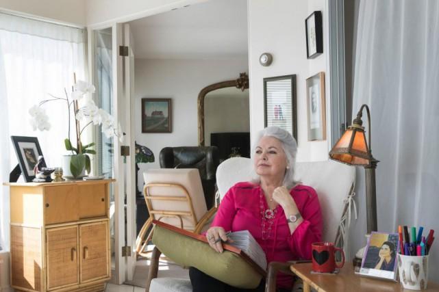 Louise Portal chez elle... (PhotoIVANOH DEMERS, LA PRESSE)