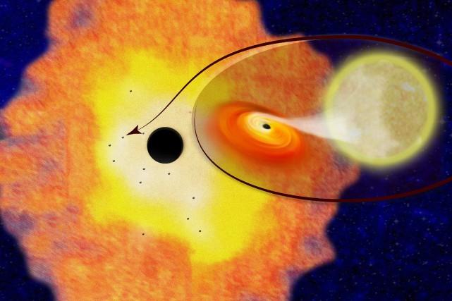 Pour l'astronome Charles Hailey, la découverte de douze... (PHOTO AP)