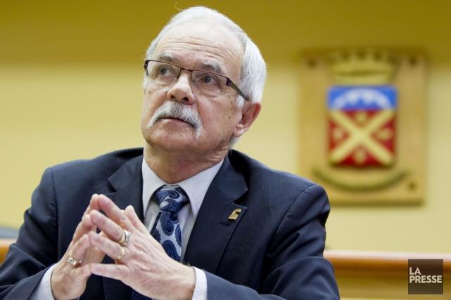 L'ex-maireGilles Pepin exige que lui soient remboursés les... (ARCHIVES LA PRESSE)