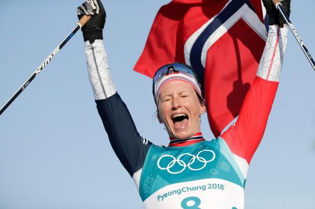 Marit Bjoergen a remporté 15 médailles olympiques (8... (Photo Dmitri Lovetsky, AP)