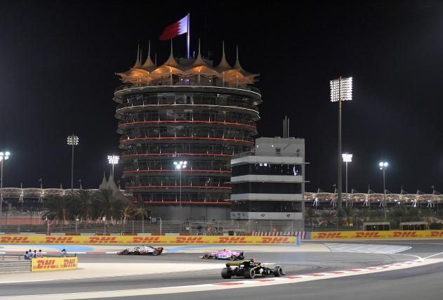 La seconde séance d'essais libres s'est déroulée à... (photo AFP)