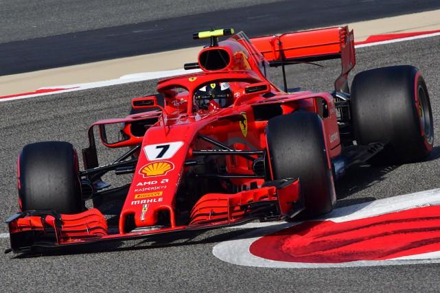 Sebastian Vettel... (PHOTO GIUSEPPE CACACE, AGENCE FRANCE-PRESSE)