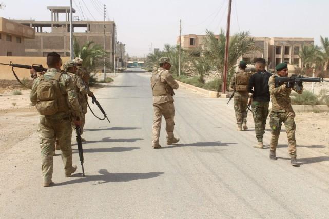 Selon les experts, des jihadistes se terrent toujours... (AFP)
