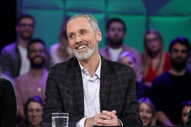 VincentMarissal, candidat à l'investiture deQuébec solidaire dans Rosemont... (Photo KarineDufour, fournie par Ici Radio-Canada Télé)