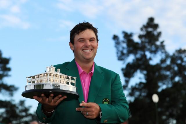 L'Américain Patrick Reed a remporté à Augusta le... (Photo Andrew Redington, AFP)