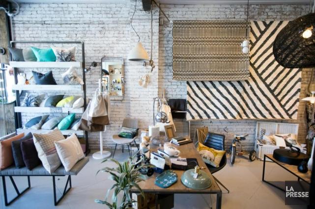 La boutique est constituée d'un mélange demeubles Lovasi... (Photo FrançoisRoy, La Presse)