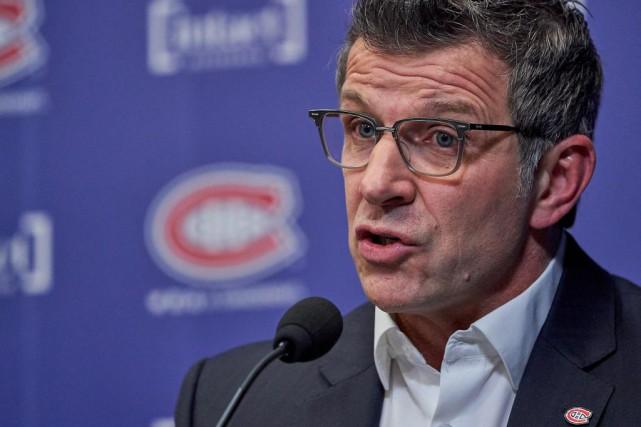 Marc Bergevin, directeur général du Canadien... (Photo André Pichette, La Presse)
