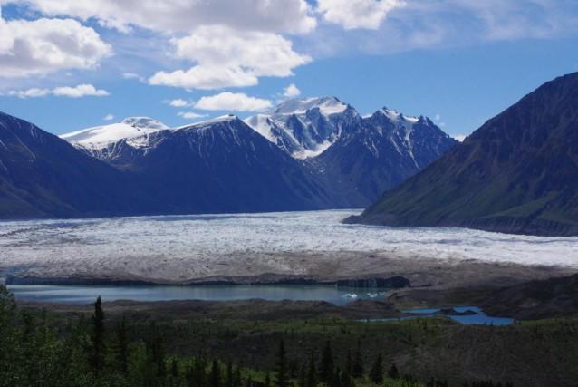 Le glacierDonjek.... (Photo Marie Tison, La Presse)