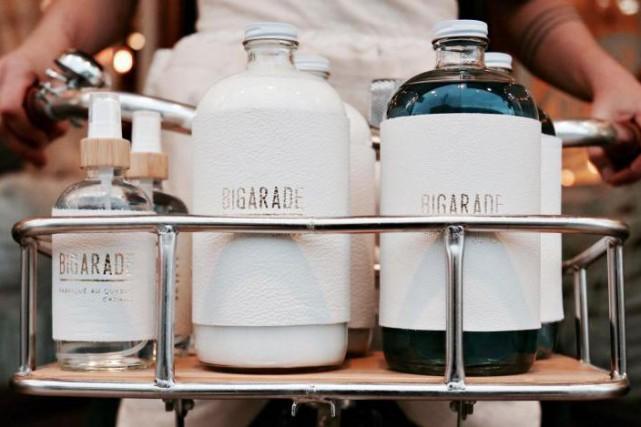 Les contenants de lessive et d'assouplisseur Bigarade viennent... (Photo fournie par Bigarade)