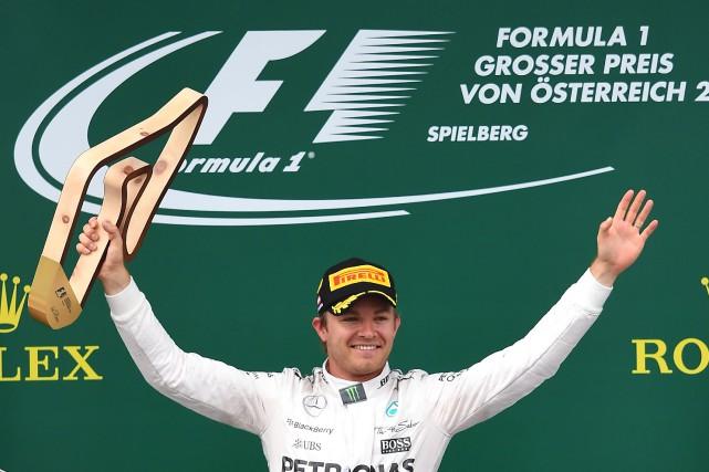 L'ex-pilote de F1 Nico Rosberg a investi dans... (photo AFP)