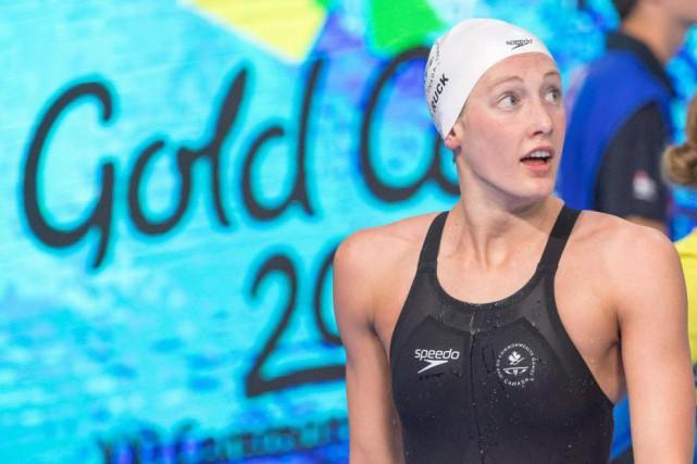 La nageuse canadienne Taylor Ruck a égalé un... (PhotoRyan Remiorz, La Presse canadienne)
