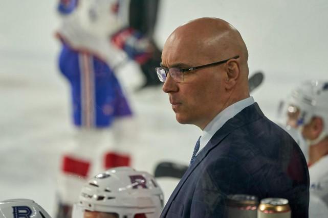 Sylvain Lefebvre gardera-t-il son poste d'entraîneur-chef avec le... (Photo André Pichette, Archives La Presse)