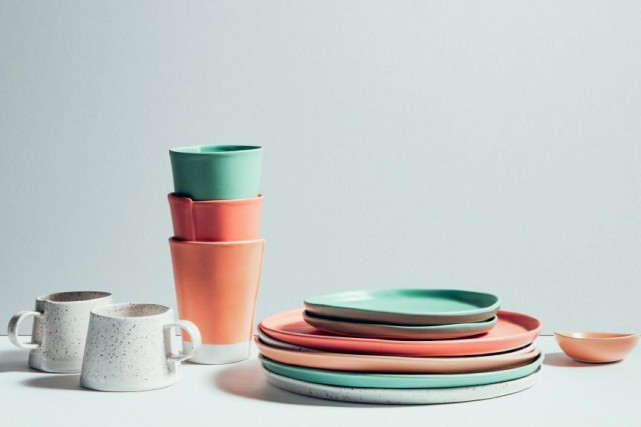 Les porcelaines d'AtelierMake... (Photo fournie par Bref)