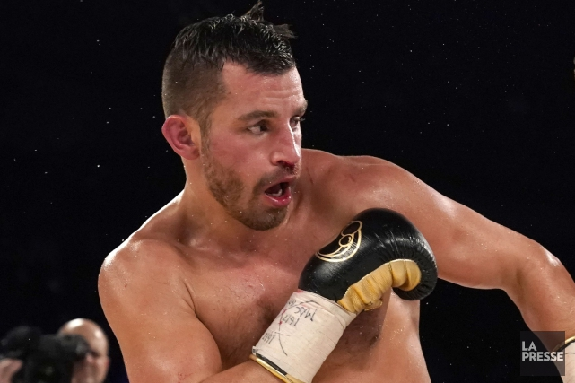 David Lemieux... (Photo Bernard Brault, La Presse)