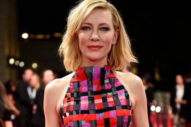 Cette année c'est l'actrice australienne Cate Blanchett qui... (Photo archives AFP)