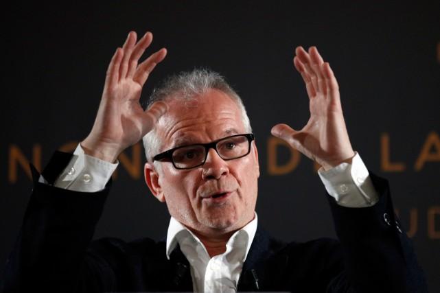 Thierry Frémaux, délégué général du Festival de Cannes.... (Photo AP)