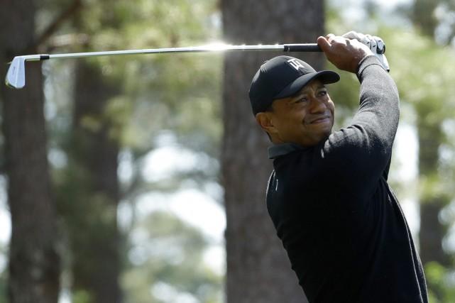 TigerWoods n'a pas participé à l'Omnium des États-Unis... (Photo Matt Slocum, AP)