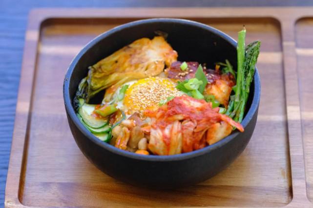 Le bibimbap est un plat typiquement coréen.... (Photo Martin Chamberland, La Presse)