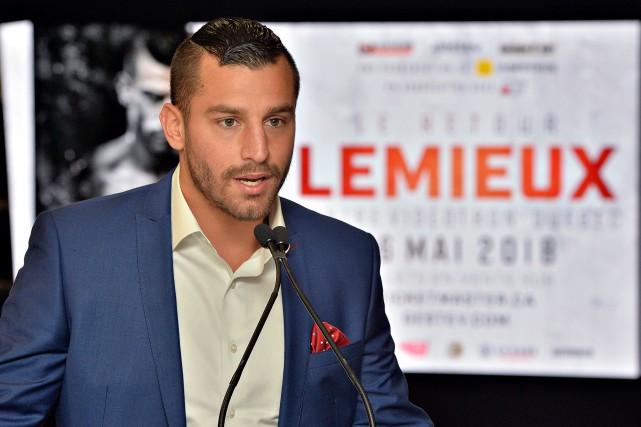David Lemieux... (Photo Patrice Laroche, Le Soleil)